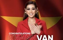 Khánh Vân đã có chia sẻ đầu tiên sau khi bị loại khỏi Top 10 Miss Universe 2020