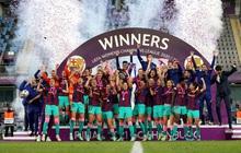 Trong ngày Messi và đồng đội gây thất vọng tràn trề, hội chị em lại giúp Barcelona liên tiếp gặt hái vinh quang