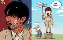 Bộ ảnh viral nhất mấy hôm nay chính là những tác phẩm của fan Đen Vâu, trổ tài cầm kỳ thi hoạ quá đỉnh!
