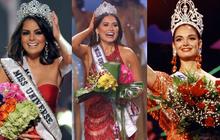 """Rùng mình """"điềm báo đăng quang"""": 3 đời Hoa hậu Mexico chiến thắng vương miện Miss Universe đều mặc váy có chi tiết này"""