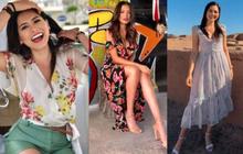 """Style đời thường của tân Hoa hậu Hoàn vũ Mexico: Chuẩn """"bánh bèo chúa"""" khi diện toàn váy áo hoa lá hẹ"""