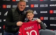 """Hổ phụ sinh hổ tử: Con trai Rooney """"hủy diệt"""" đối thủ, 6 lần lập công trong 1 trận đấu"""
