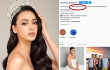 """Không vào nổi top 5 Miss Universe, Hoa hậu Thái Lan vẫn cực hot trên Instagram, thậm chí còn """"dí sát nút"""" đương kim Hoa hậu người Mexico"""