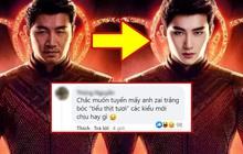 """Shang-Chi của Marvel bị khán giả Trung chê bai vì không """"đẹp chuẩn nam thần"""", netizen Việt tức tối: """"Muốn kẻ chân mày rồi đánh võ hay gì?"""""""