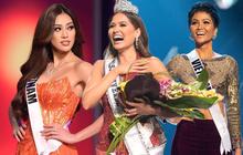 Khánh Vân ghi trọn điểm 10 dù dừng chân ở Top 21, H'Hen Niê cũng được khen vì có hành động đẹp với tân Hoa hậu