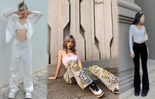 Insta look Gen Z tuần qua: Có nàng diện cả bra ra đường, màu trắng năm nay thành hot trend hay sao?