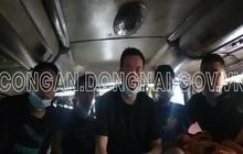 Xe khách chở 5 người Trung Quốc nhập cảnh trái phép trốn từ vùng dịch Bắc Giang vào Đồng Nai, ẩn nấp trong thùng carton
