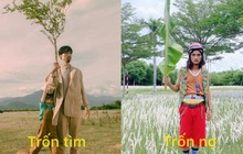 """Góc """"trốn tìm"""": Mạc Văn Khoa, """"chị cà khịa"""" của VTV cosplay """"thân cây"""" Đen Vâu, dân tình cũng đua nhau bắt trend"""