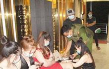 Quán karaoke hoạt động lén lút với gần 100 khách, nhiều người dương tính ma túy