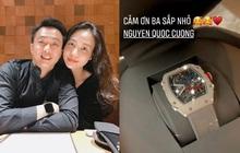 """Cường Đô La tặng đồng hồ hiệu nịnh """"nóc nhà"""", giá bao nhiêu mà khiến netizen nghe xong xỉu dọc xỉu ngang?"""
