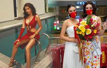 Khánh Vân chưa về nước, Kim Duyên đã tung bộ ảnh nóng hừng hực bắt đầu đường đua đến Miss Universe 2021