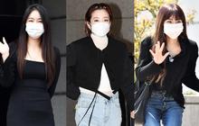 Đối lập dàn mỹ nhân Hàn đi làm: Dara để nguyên đầu bết bê, cựu thành viên SISTAR vòng 1 khủng ngồn ngộn át cả Heize