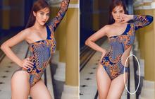 Huyền Lizzie đăng ảnh bikini khoe trọn thân hình gợi cảm, netizen chỉ chú ý đến chi tiết gạch bị méo