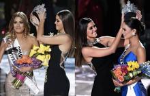"""""""Cà khịa"""" Khánh Vân, Hoa hậu Hoàn vũ 2015 Pia bị đào lại đêm đăng quang hi hữu nhất lịch sử Miss Universe"""