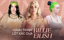 """Hành trình Billie Eilish lột xác: Đóng thùng không hở 1cm vì bị lạm dụng tình dục và màn """"bung xoã"""" sexy khiến thế giới nghẹt thở"""