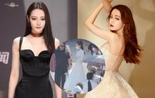 Lộ ảnh Địch Lệ Nhiệt Ba gầy trơ xương ở phim mới, netizen lo lắng ép cân quá đà
