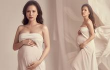 """Phanh Lee khoe rõ bụng bầu ở tháng thứ 7, sắc vóc phu nhân TGĐ tập đoàn nghìn tỷ có còn """"đỉnh của chóp"""" khi tăng 10kg?"""