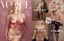 """Lần đầu có mỹ nhân đi vào lịch sử chỉ vì... """"bung xõa"""" sexy như Billie Eilish: Đạt luôn 100 triệu like chỉ với 8 bức ảnh bốc lửa"""