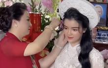"""Con dâu sinh năm 96 của """"bà chủ Đại Nam"""" Phương Hằng khoá Facebook sau lễ đính hôn ngập kim cương"""