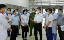 CLIP: Cận cảnh bên trong Bệnh viện dã chiến Mê Linh sẵn sàng tiếp nhận 300 F1