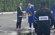 Lộ ảnh Jack ướt nhẹp cùng Jun Phạm, Ninh Dương Lan Ngọc chơi Running Man Việt