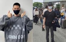 """Hé lộ hình ảnh nhập ngũ đầu tiên của Baekhyun (EXO) vào hôm nay, body lột xác khiến fan """"gào thét"""" không thôi"""
