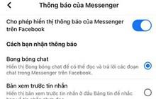Hot: Messenger trên iPhone chính thức có bong bóng chat