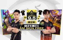 Liên Quân Mobile: Game thủ sẽ được nhận miễn phí 2 skin Nakroth cực xịn xò từ sự kiện Chung kết Đấu Trường Danh Vọng