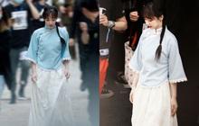 """Dương Tử tết tóc bím xinh """"bá cháy"""" chưa từng thấy, còn gợi nhớ đến mỹ nhân Bến Thượng Hải năm nào"""
