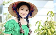 Clip full HD nhan sắc của Lọ Lem nhà MC Quyền Linh, đến đi hái cà chua cũng đẹp quá trời quá đất