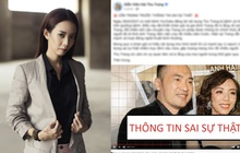Thu Trang bức xúc lên tiếng trước tin đồn bị bệnh nặng đến mức Tiến Luật đau đớn thông báo tin dữ