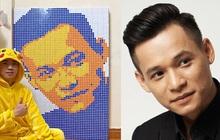 """Tự tay xếp tranh từ 450 khối Rubik tặng Độ Mixi, chàng trai khiến cả """"bộ tộc"""" thán phục vì kiệt tác có """"1-0-2"""""""