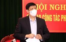 """Bộ trưởng Bộ Y tế Nguyễn Thanh Long: """"Chúng ta đang đặt trong tình trạng báo động rất cao"""""""
