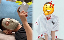 Màn đắp mặt nạ có 1-0-2 của nam idol khiến fan cảm thán: Idol thì cũng tiếc của như chúng ta mà thôi!