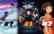 Top 5 anime có doanh thu cao nhất mọi thời đại: Spirited Away 2 lần rời ngôi vương giờ đang ở đâu?