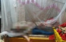 Chồng ra khỏi nhà với vết máu trên người, vợ tử vong trên giường