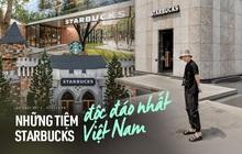 Đâu kém Thái Lan hay Nhật Bản, Việt Nam cũng có những tiệm Starbucks đẹp xuất sắc, concept độc lạ còn lọt top thế giới