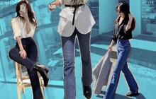 """Quá mê quần jeans, cô nàng này có hẳn một review """"tường tận"""" về 3 kiểu tôn dáng nhất dành cho các chị em"""