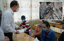 Lãnh đạo TP.HCM động viên, trao tiền hỗ trợ cho người thân của 8 nạn nhân tử vong trong vụ cháy thương tâm