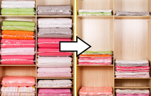 Mùa dọn tủ đã đến, mua ngay 4 loại túi hút chân không này để lưu trữ quần áo, chăn gối siêu gọn