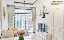 """Vội hoàn thiện nhà trước đợt bùng dịch, cặp vợ chồng vẫn thu về thành quả mỹ mãn, chi phí xứng đáng với pha """"liều"""" tự thiết kế"""