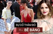1001 sự cố ồn ào nhất thảm đỏ của dàn mỹ nhân hot, hành động thô tục của Dương Mịch hay ê chề của Emma Watson là gì đây?