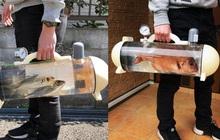 Người Nhật phát minh ra bể di động để dắt cá đi chơi, tưởng vô dụng nhưng lại cháy hàng mới lạ