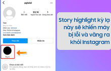 """Cộng đồng mạng xôn xao về việc story """"bí ẩn"""" trên Instagram liên tục khiến iPhone bị out ra màn hình chính, check ngay xem bạn có bị không?"""