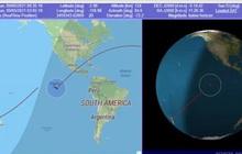 Tên lửa Trung Quốc vừa rơi, đã có địa điểm chính xác