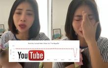 """Kênh YouTube Thơ Nguyễn bất ngờ sụt giảm lượt xem nghiêm trọng, ý định """"tơ tưởng"""" lấy nút Kim cương có lẽ còn lâu mới được!"""