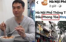 Kênh YouTube Duy Nến (Hà Nội Phố) có động thái gì với clip đưa sai thông tin Hà Nội bị phong toả sau khi bị VTV lên án dữ dội?