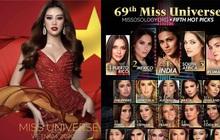 Chưa đầy 1 tuần, Khánh Vân đã tăng vọt 9 bậc lên luôn Top 12 thí sinh hot nhất Miss Universe: Dự sắp làm nên chuyện rồi đây!