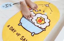 Nhà nào cũng nên có thảm chùi chân chống trượt: Chỉ từ 90k, đảm bảo an toàn cho người già và trẻ nhỏ