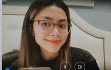 Hà Tăng thành sinh viên học online, nhan sắc con dâu nhà tỷ phú qua camera máy tính như thế nào mà dân tình tròn mắt?